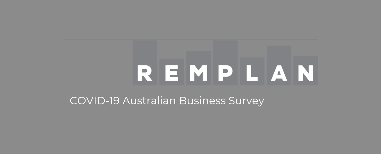 Remplan Covid 19 business survey