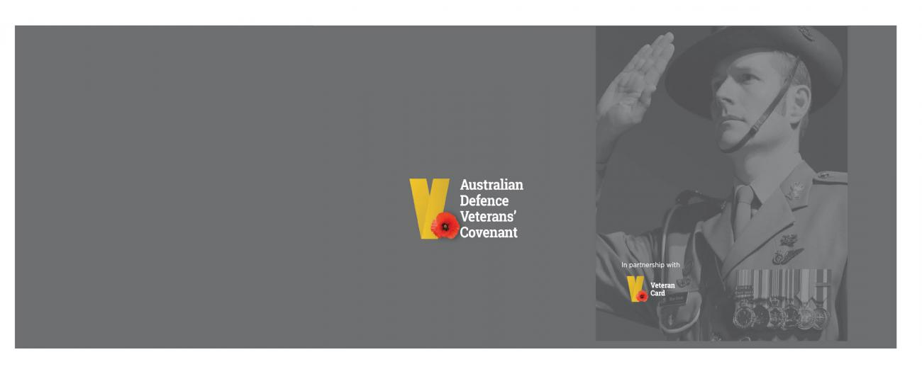 Australian Defence Veterans Covenant - Banner