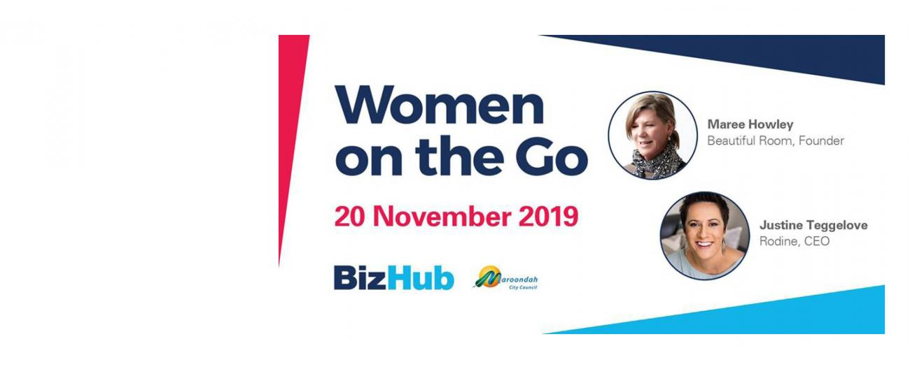 Women on the Go Event Nov 2019