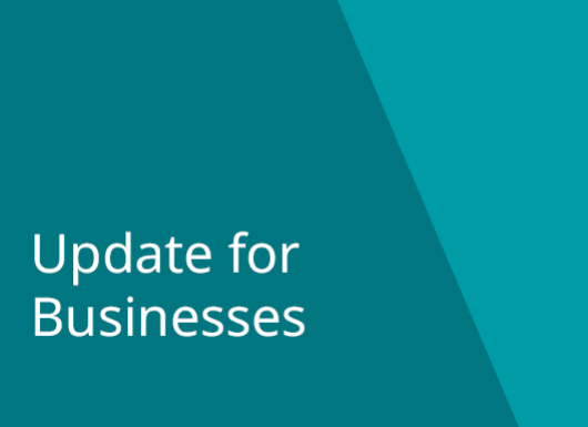 Business Community Update